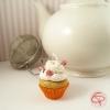 Boule à thé originale contre-poids infuseur à thé tisane cupcake sucre d'orge