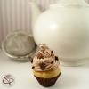 Boule à thé originale contrepoids infuseur à thé tisane cupcake chocolat