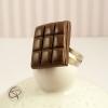 bague chocolat noir