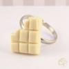 bague enfant chocolat blanc croqué bijou fille original