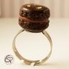 Bague macaron bijou pour femme bague fantaisie cadeau original femme Chat Pristy