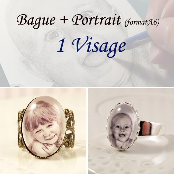 Bague Portrait