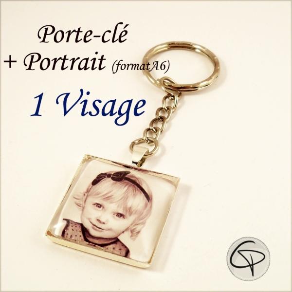 Porte-clé Portrait