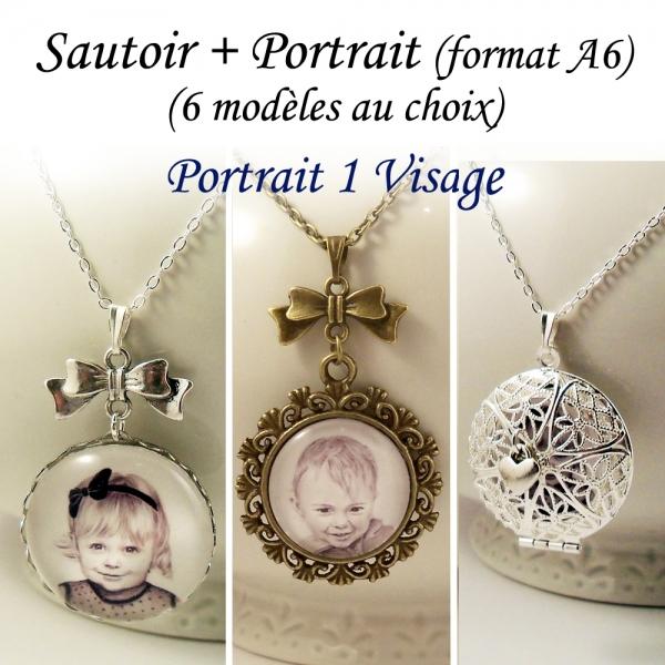 Sautoir Portrait