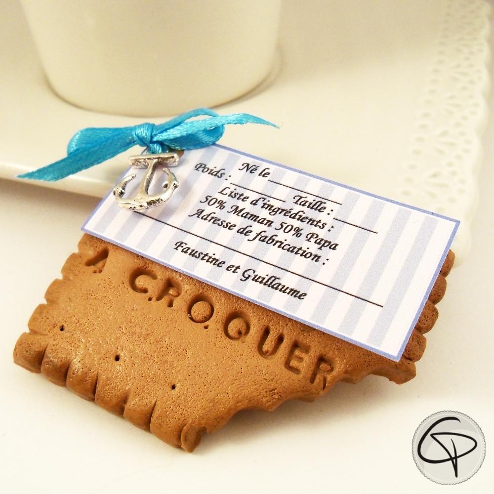 Faire-part biscuit