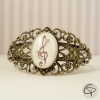 Bracelet fantaisie dessin clé de sol