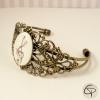 Bracelet fantaisie dessin clef de sol
