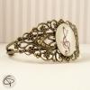 Bracelet fantaisie dessin cle de sol