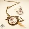 bijoux pour femme illustrés avec de beaux pissenlits