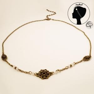 Headband bronze Solitaire