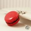 Bijoux enfant macaron rouge