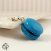 collier macaron bleu turquoise bijou gourmand petite fille