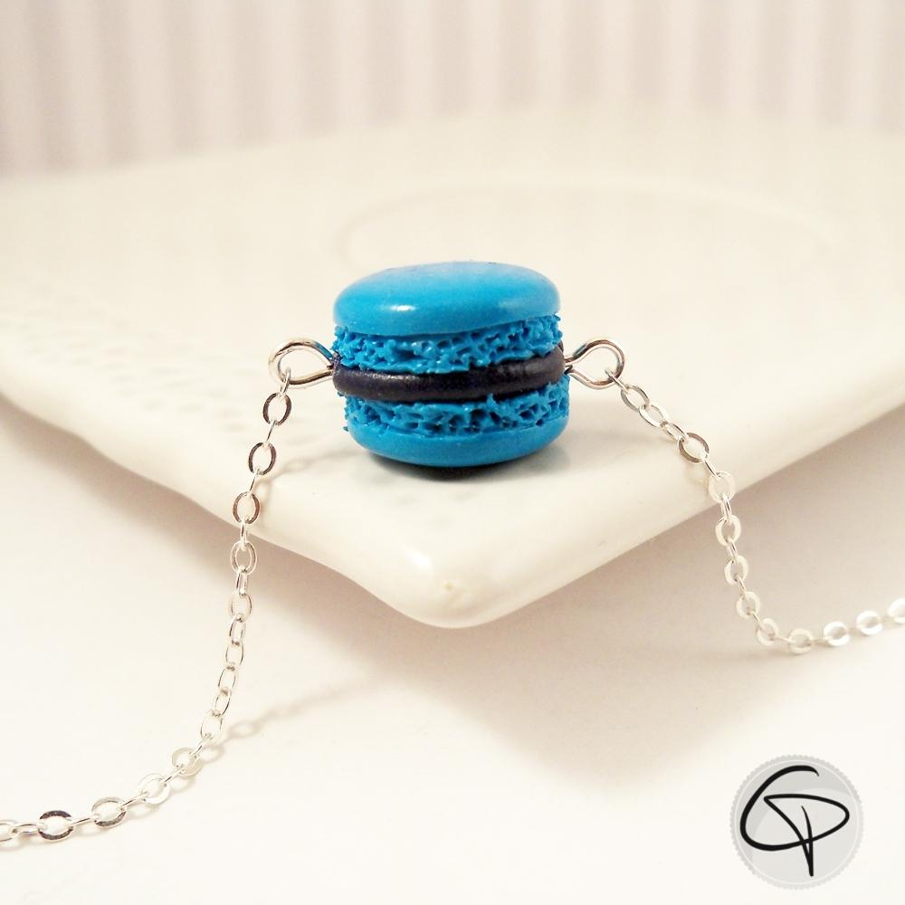 mignonne parure de bijoux pour enfant avec macaron turquoise. Black Bedroom Furniture Sets. Home Design Ideas
