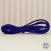 Cordon en suédine bleu roi à choisir pour créer votre bracelet infini
