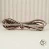 Cordon en cuir de couleur grise pour bracelet Chat Pristy