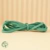 Brin en daim colori vert d'eau pour réaliser un beau bracelet