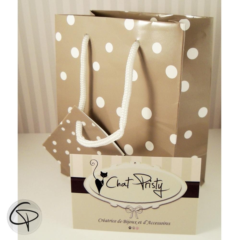 Paquet Cadeau Gris
