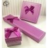 Ecrin bague violet