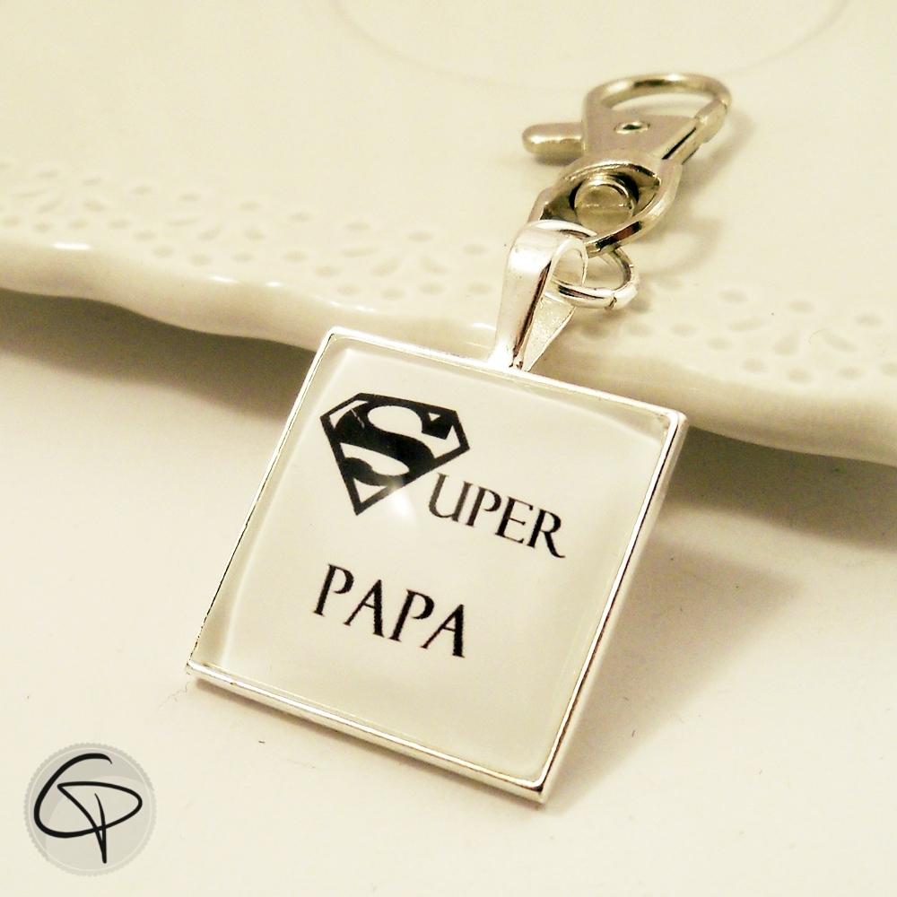 Porte clef Super Papa