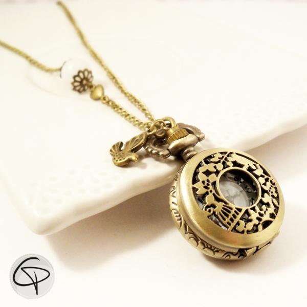 Sautoir montre