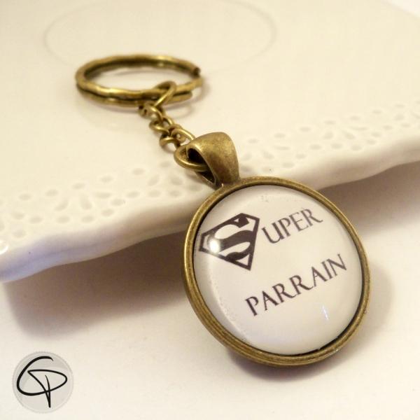 Porte-clef Super Parrain