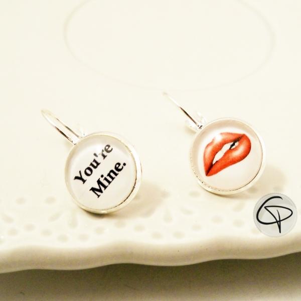 Boucles d'oreilles pour femme You Are Mine