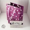 Petit paquet cadeau violet