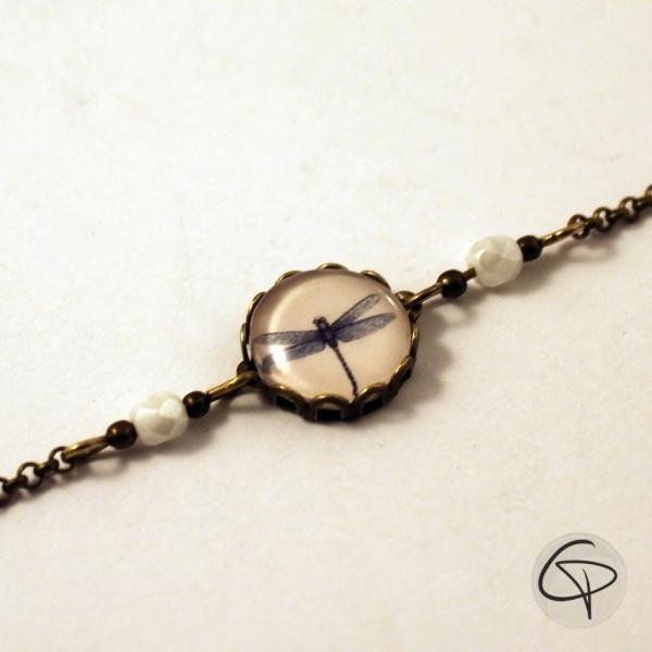 Bracelet dessin de LIBELLULE