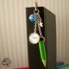 Marque-page merci crayon vert cadeau maitresse personnalisé