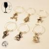 Bijoux de verre BRELOQUES crystal blanc