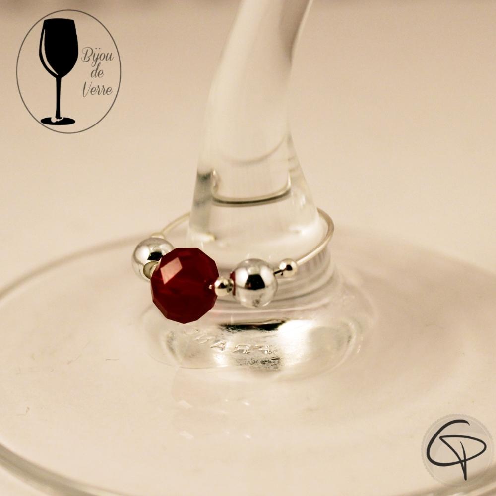 Bijoux de verre CRYSTAL ROUGE