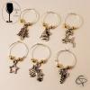 Bijoux de verre DORE et breloques