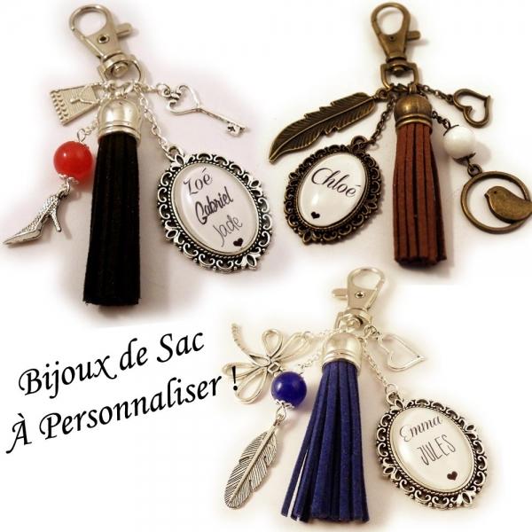 Bijoux de sac à PERSONNALISER