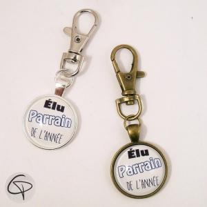 Porte-clef ELU PARRAIN DE L'ANNEE