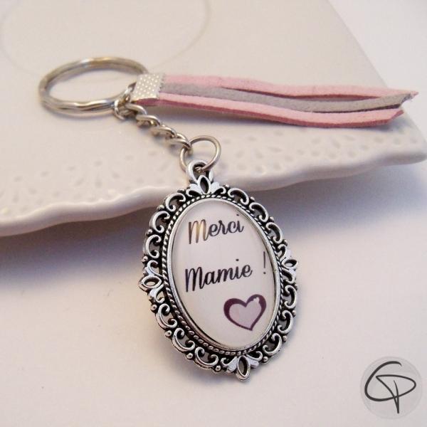 Porte-clef Merci Mamie !