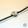 Bracelet bronze suédine ANCRE MARINE