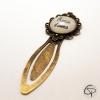 Cadeau original maman marque-page bijou pour livre fête des mères