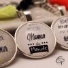 Porte-clef personnalisé maman cadeau original fête des mères