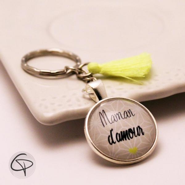 Porte-clé personnalisé maman d'amour - cadeau original