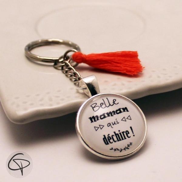 Porte-clef belle maman qui déchire - cadeau original