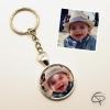 porte-clé photo personnalisé couleur cadeau original