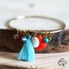Bracelet Coeur et Charme