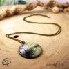 bijou tropical original sautoir palmier belle sur la plage