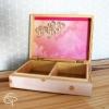 boîte en bois pour enfant coffret à trésors et souvenirs