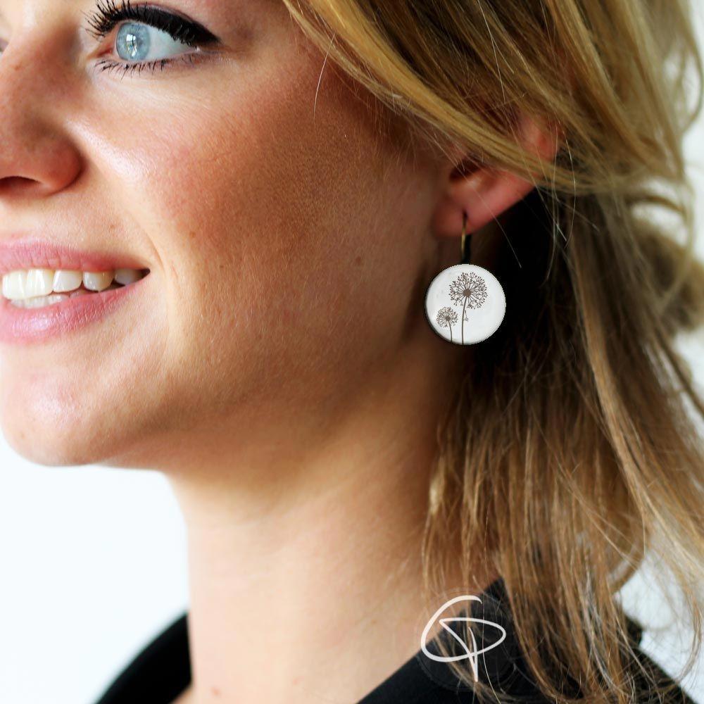 Boucles d'oreilles Pissenlit