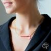 Collier perles de rocaille au choix