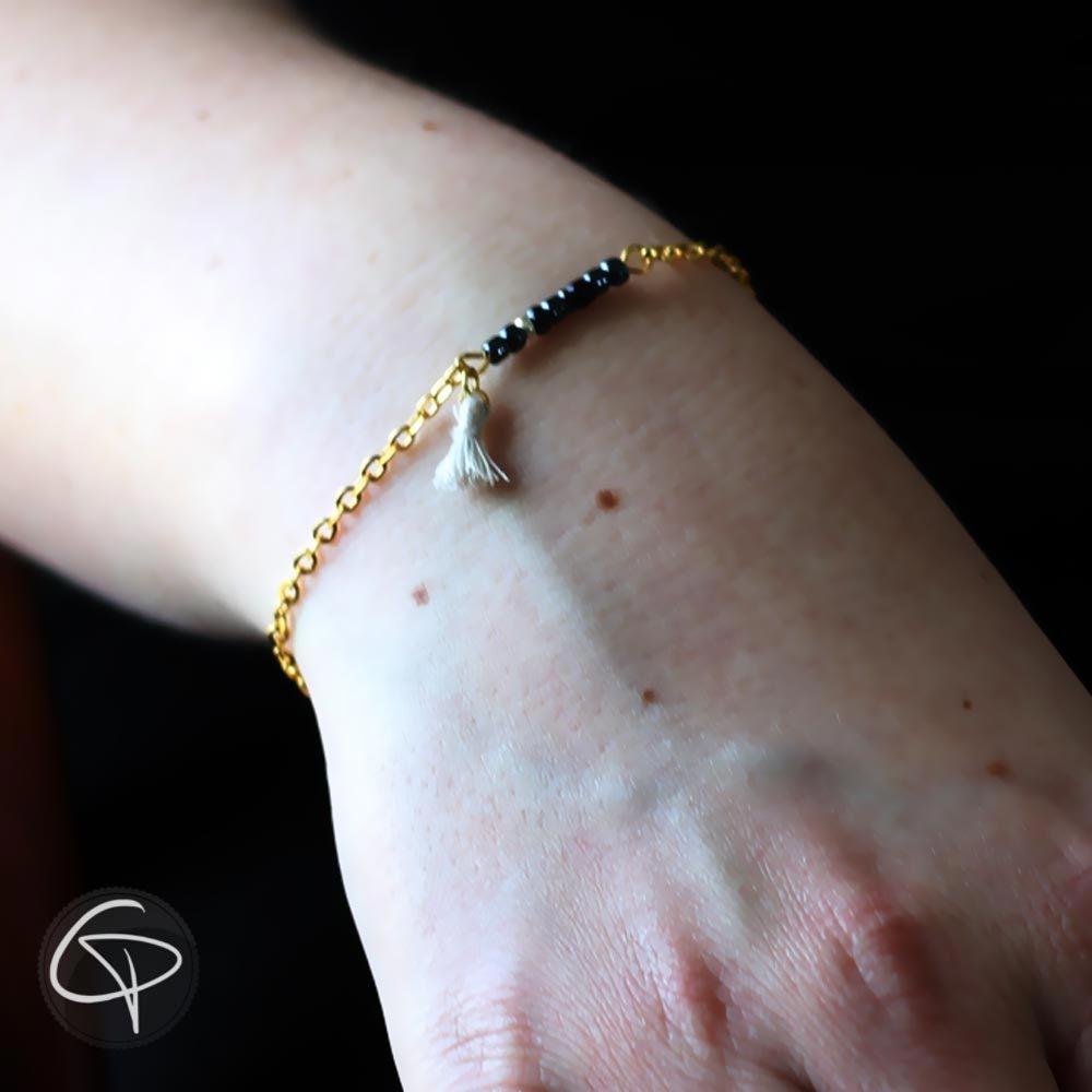 Bracelet perles de rocaille au choix