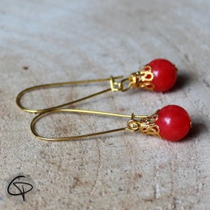 Boucles d'oreilles Isa Chat Pristy