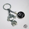 Porte-clef décapsuleur