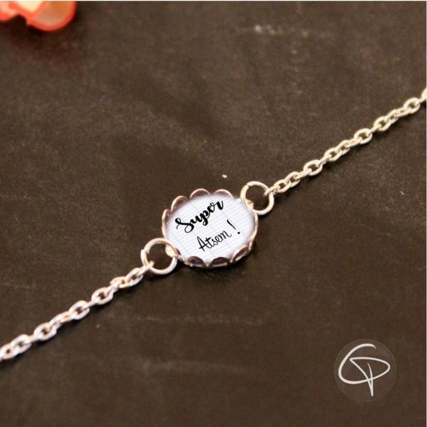 Bracelets maîtresse, Avs ou Atsem au choix - cadeau original